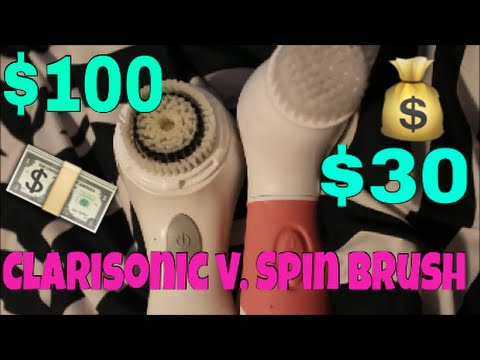 Clarisonic Brush vs. Cheap Spin Brush: Is it worth its price?