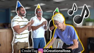 Customers Embarrass Server by Singing THEM Happy Birthday