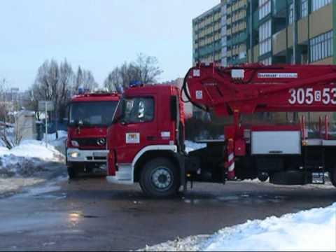 Straż Pożarna Ciut Niebezpiecznie. Mix Gdańsk Na Sygnale Zima 2010r