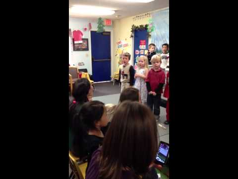 Leo Singing Carmel Mountain Preschool 3