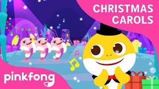 Happy Happy Shark Christmas | Christmas Carols | Baby Shark | Pinkfong Songs for Children
