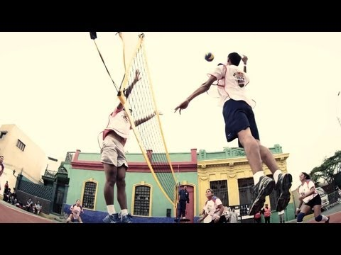 Volleyball Tournament in Peru - Red Bull Voley Barrio 2013
