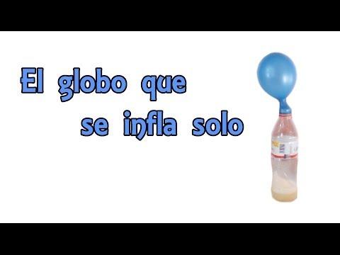 El Globo Que Se Infla Solo (Experimentos Caseros Para Niños)
