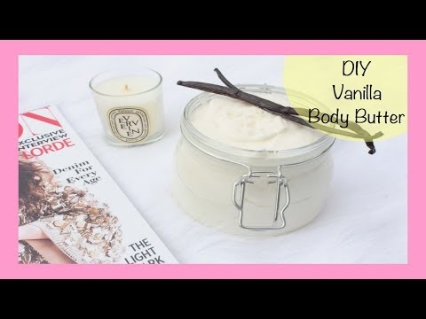 DIY Whipped Vanilla Body Butter