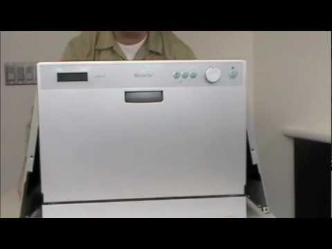 Youtube Countertop Dishwasher : ... DWP61ES Countertop Dishwasher Service Provider Support Pt. 1 - YouTube