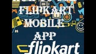 How to use flipkart mobile app