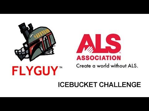 FLYGUY ALS Ice Bucket Challenge.