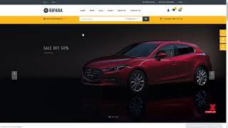 Ripara - Auto Repair and Car WooCommerce WordPress Theme      Sammie