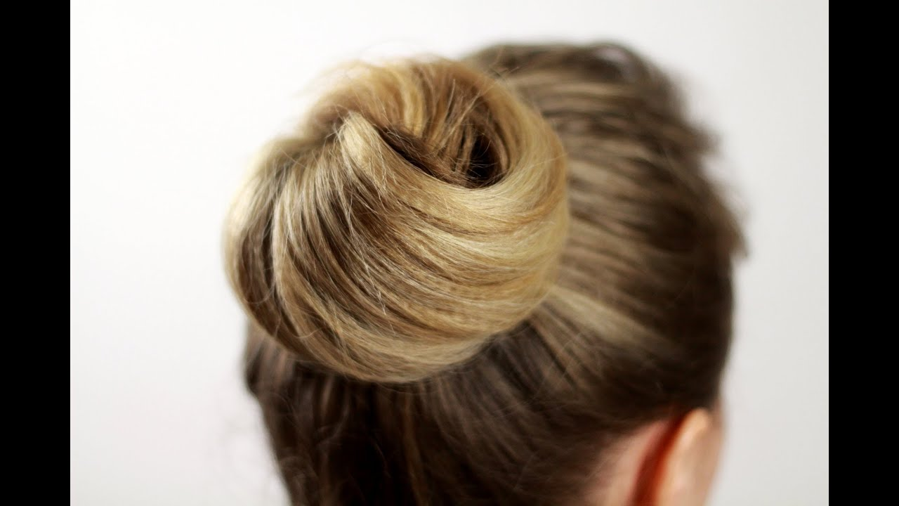 Как сделать прическу из узлов на волосах с помощью невидимки 45