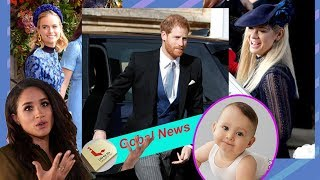 Meghan can not calm down when Chelsy Davy, arrives for big day and announces pregnancy with Harry.