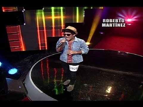 Ex participante de 'La Voz Perú' imita a Bruno Mars en 'Yo Soy'