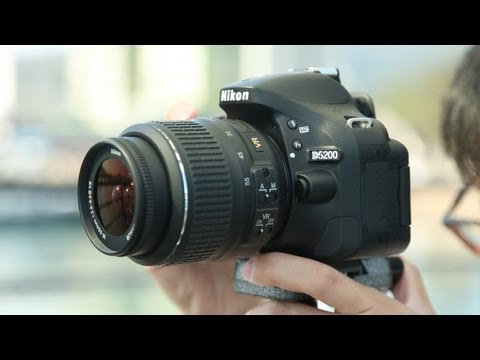 Nikon D5200 Hands-on Review