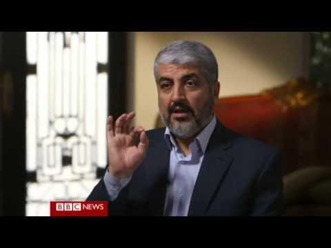 Khaled Meshaal  Political Leader of Hamas on HARDtalk Prt 2
