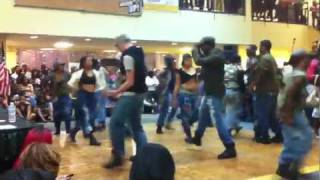 2hype dance crew at WRIGHT STATE UNIVERSITY: BSU talent show