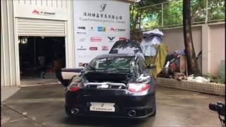 Porsche 997 .2 Turbo x Fi Exhaust - Sound Check Insane Sound !