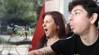 WE WITNESSED A TERRIFYING CAR ACCIDENT.. (CAUGHT ON CAMERA) | Vlogs | FaZe Rug