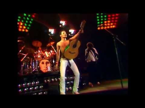 Queen - Crazy Little Thing Called Love - Live At The Bowl - 5 June  1982 video