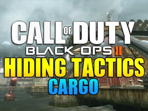 Black Ops 2 - Hiding Tactics on Cargo