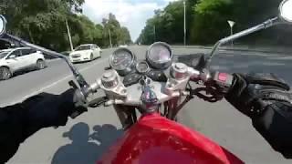 Suzuki GSF400 Bandit. Необычный тест-драйв. Меняемся мотоциклами с каналом Moto Daily!