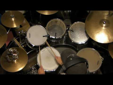 Drum Cover: Ain't no Mountain High Enough
