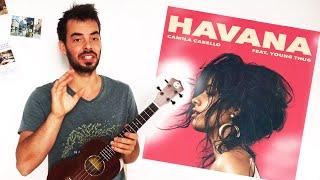 Download Lagu HAVANA Ukulele Tutorial - easy chords w/ strum and picking patterns Gratis STAFABAND
