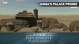 RETRO - Jedi Academy PC Game -  The Temple of Jabba the Hutt (SJC)