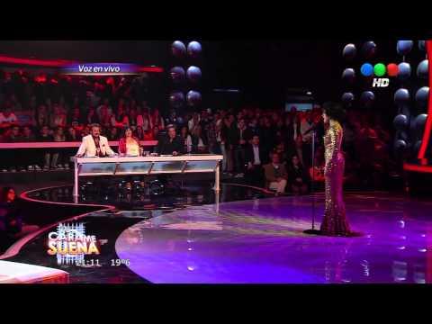 Laura Esquivel como Whitney Houston - Tu Cara Me Suena HD (Gala 3)