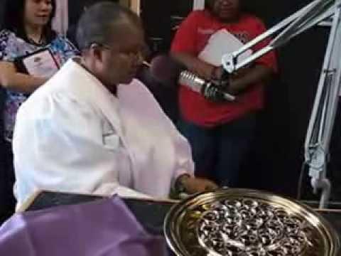"Rev. Dr .Jacqui King ""Communion National Day of Prayer"""
