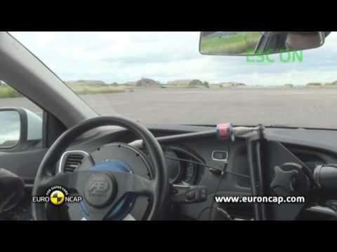 Euro NCAP | Volvo V40 | 2012 | Электронный контроль устойчивости