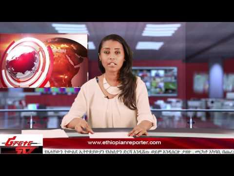 ETHIOPIAN REPORTER TV | Amharic News 11/13/2016