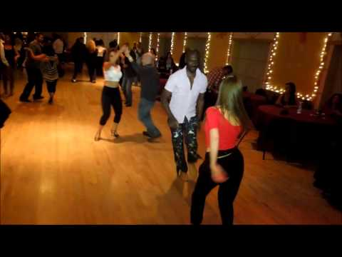Steve Martin & Sasha Choulenia Social Dance at Mr. Mambo's Salsa Social