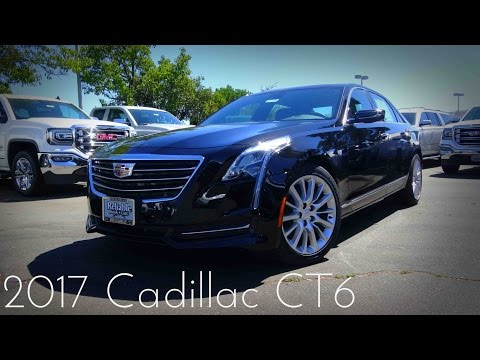 2017 Cadillac CT6 3.6 L V6 Road Test & Review