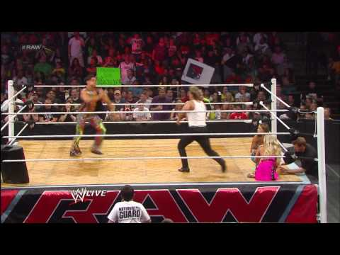 Chris Jericho vs. Fandango - Dance-Off: Raw, May 13, 2013
