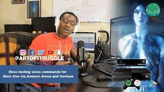 📡Xbox testing voice commands for Xbox One via Amazon Alexa and Cortana