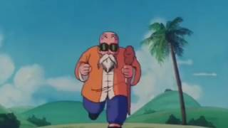 Krillin And Master Roshi Gets Traumatized By Launch - Dragon Ball