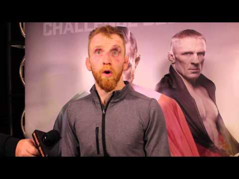 Post Fight Video Interview with Paddy Holohan following UFC Boston