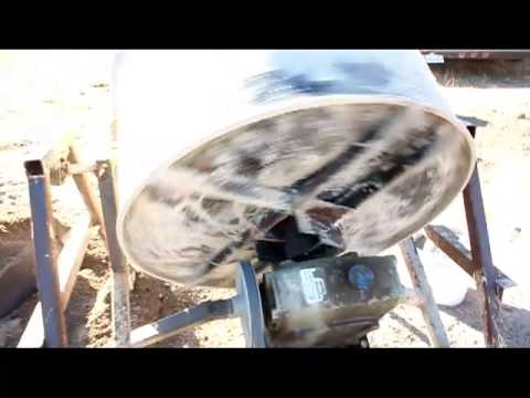Diy Cement Mixer Homemade Cement Mixer