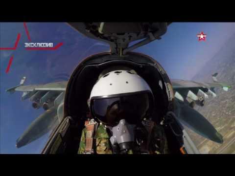 Уничтожаем все, что нашли: кадры свободной охоты Су-25 в Сирии