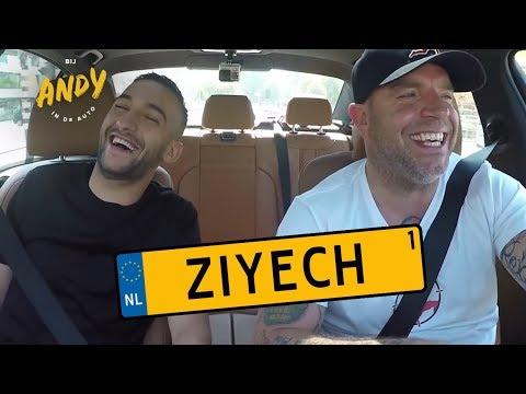 Hakim Ziyech - Bij Andy in de auto! deel 1