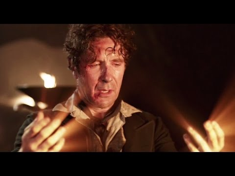 Eighth Doctor Regenerates into War Doctor - Paul McGann to John Hurt - Doctor Who - BBC