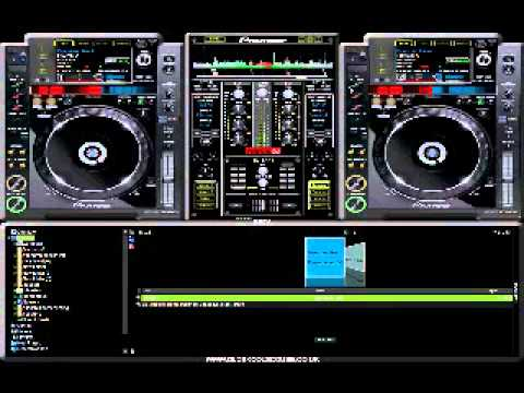Virtual DJ SKINS Pioneer CDJ 2000 - Best skin ever