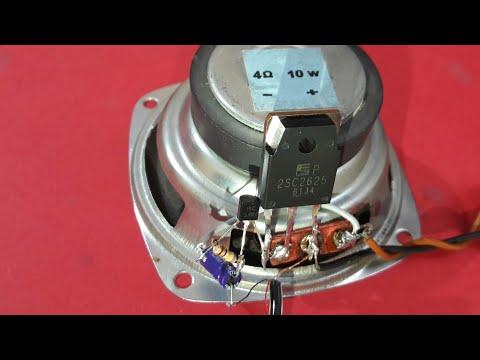 Audio Amplifier (using 2 Transistor BC548,2SC2625) thumbnail