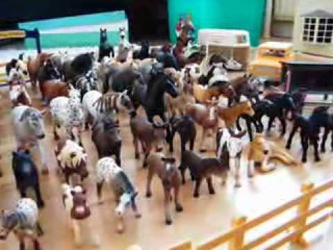 my Entire Schleich Horse/farm
