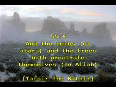 Abdul-basit--al-qamar (verse 49) To Arrahman(verse 27) video