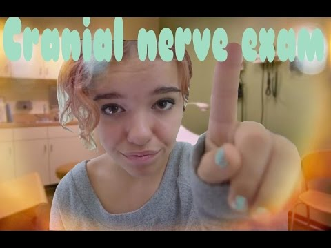 Cranial Nerve Examination ASMR- second visit **whisper**