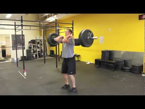 CrossFit Modig - Power Clean Demo Video Image 1