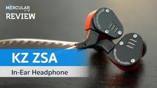 รีวิว KZ ZSA- หูฟัง Hybrid 2 Driver ใหม่ เสียงดีเกินคาด ราคา 590 บาท