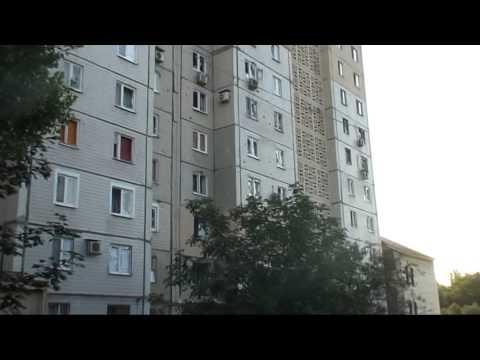 Первый обстрел центра Донецка укрармией.Последствия.-Второй обстрел с7-по10 августа(звук)