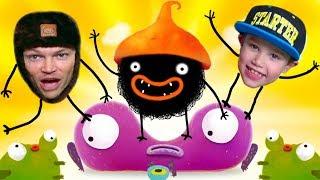 Chuchel - самая няшная игра / Макс и Папа играют в Let's play от Mister Max Play
