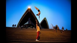 INSANE 10 MINUTE PHOTO CHALLENGE WITH CIRQUE DU SOLEIL IN AUSTRALIA (Don't try this!)